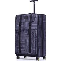 It Luggage Büyük Boy Valiz Kumaş Gri 1830