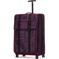 It Luggage Büyük Boy Valiz Kumaş Kırmızı 1830