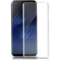 Dual Pazar Samsung Galaxy S8 Plus Temperli 9H 3D Kavisli Kırılmaz Cam Ekran Koruyucu