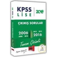 2018 KPSS Lise Tamamı Çözümlü 2006 2016 Çıkmış Soruları