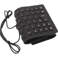 Magic Usb Silikon Katlanabilir Klavye Su Geçirmez Srf-99-Klv