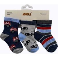Artı 400249 Siren 3'lü Baby Soket Bebek Çorabı
