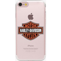 Remeto Apple iPhone 6 Harley Davidson Şeffaf Silikon Kılıf