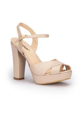 Polaris 71.309920.Z Bej Kadın Sandalet