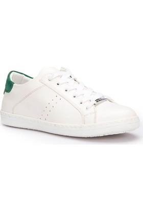 U.S. Polo Assn. Messina Beyaz Yeşil Kadın Sneaker