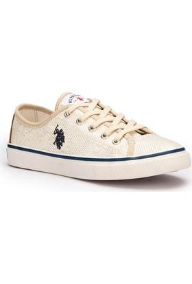 U.S. Polo Assn. Toga Bej Kadın Sneaker