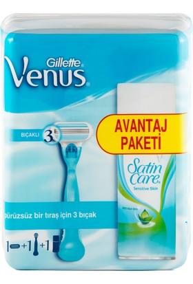 Gillette Venus Tıraş Makinesi (75 ml Tıraş Jeli Hediyeli!)