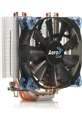 Aerocool Verkho4 Intel LGA1156/155/1151/1150/775/1366 AMD FM2/FM1/AM3+/AM3/AM2+/AM2 12cm Fan İşlemci Soğutucu (AE-CC-VERKHO4)