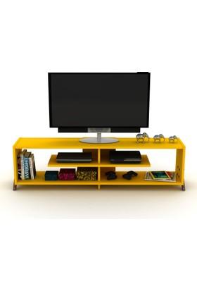 Rafevi Kipp TV Ceviz Sarı