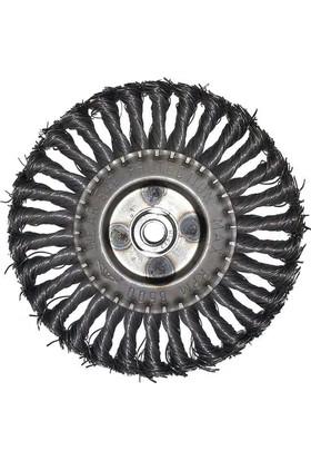 Ctm Tel Fırça 180 Mm M14 Vidalı Taşlama/Spiral Makinası İçin