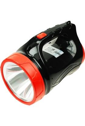 Şarjlı El Feneri 5W Ledli Panther Pt 8930A