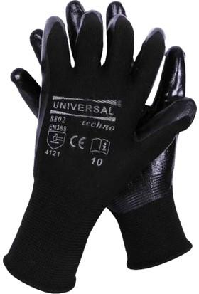 Eldiven Nitril Siyah Universal 10 No