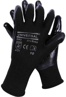 Eldiven Nitril Siyah Universal 10 No (60 Çift)