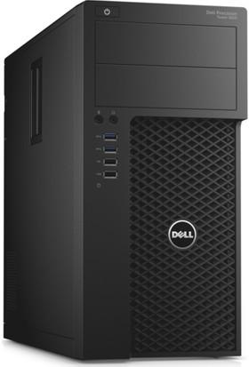 Dell Selvi T3620 Intel Xeon E3 1240 v5 8GB 256GB SSD Quadro K620 Windows 7 Pro Masaüstü Bilgisayar