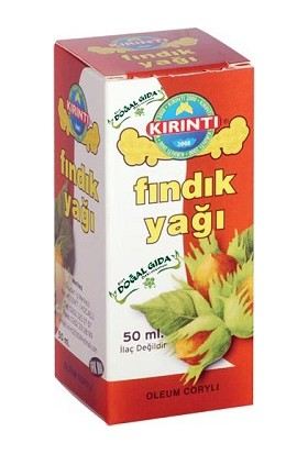 Siirt Doğal Gıda-Kırıntı Fındık Yağı 50 Mı.
