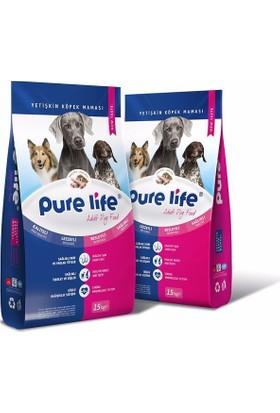 Pure Life Kuzu Etli Pirinçli Yetişkin Köpek Maması 15 Kg