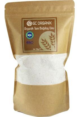 Gc Organik Tam Buğday Unu 750 Gr - Sertifikalı