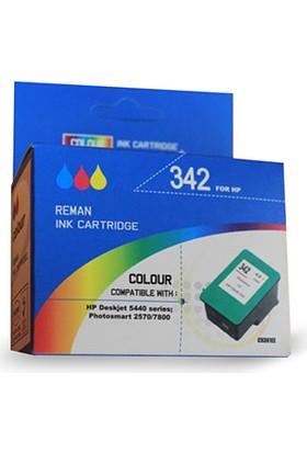 Bk Hp 342 Sıfır Renkli Muadil Kartuş Yüksek Kapasite (C9361E)