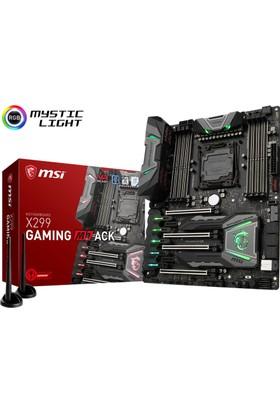 MSI X299 GAMING M7 ACK Intel X299 Soket 2066 DDR4 4266+(O.C) Mhz USB 3.1 Anakart
