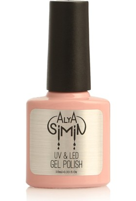 Alya Simin Shellac French Soft Pembe Kalıcı Oje