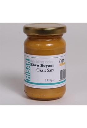 Hisar Ebru Boyası 105Ml N:601 Oksit Sarı
