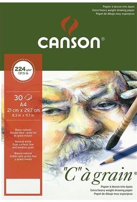 "Canson ""C"" À Grain Çizim Defteri 224Gr - A5"