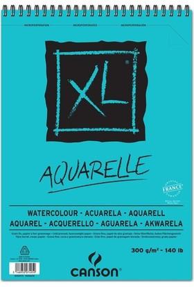 Canson Xl Aquarelle Spiralli Sulu Boya Blok - A5