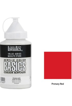 Liquitex Basic Akrilik 400 Ml - N:415 Prımary Red