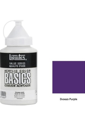 Liquitex Basic Akrilik 400 Ml - N:186 Dıoxazı Purple