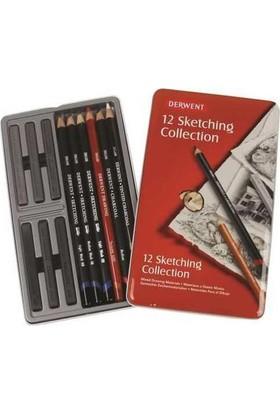 Derwent Sketching Collection 12'Li