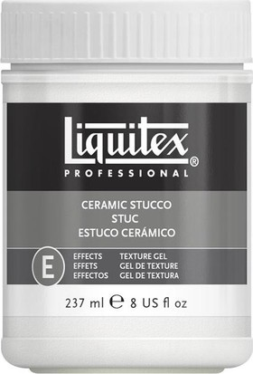 Liquitex Effects Gel Texture Ceramic Stucco, Seramik Doku Jeli 237Ml