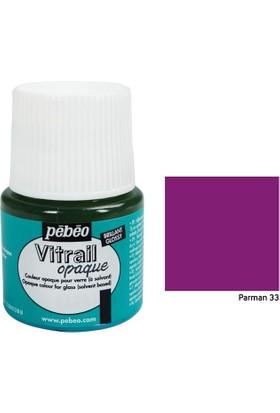 Pebeo Vitrail Cam Boyası 45Ml - 33 Parma