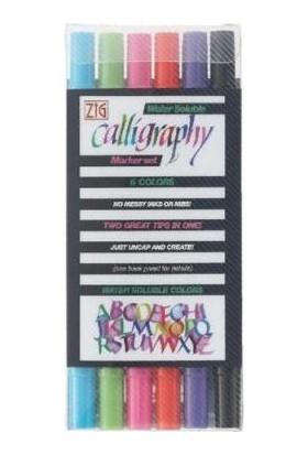 Zig Calligraphy 6 Renk Set (2.00Mm - 3.5Mm)