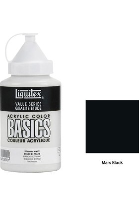 Liquitex Basic Akrilik 400 Ml - N:276 Mars Black