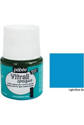 Pebeo Vitrail Cam Boyası 45Ml - 36 Light Blue
