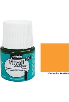 Pebeo Vitrail Cam Boyası 45Ml - 46 Clementine (Opak)