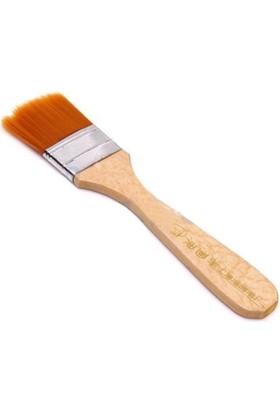 Turuncu Kıl Zemin Fırçası - N:1