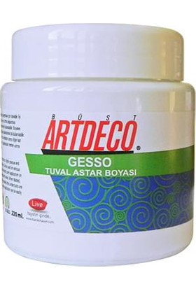Artdeco Gesso Tuval Astar Boyası 220Ml