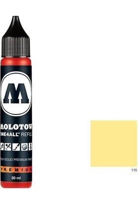 Molotow Refill 30Ml - Vanilla Pastel 115