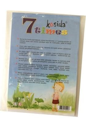 Ponart - Kosida 7Times Yedi Kat Küçülen Kağıt A4 2'Li Paket