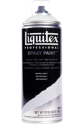 Liquitex Akrilik Sprey Boya 400Ml - Neutral Grey 7