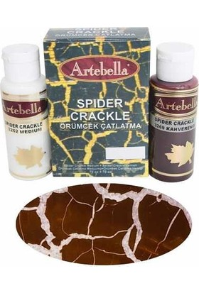 Artebella Örümcek Çatlatma 3274 Çikolata 70 Cc Medium + 70 Cc Vernik