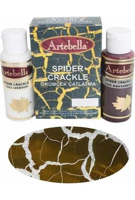 Artebella Örümcek Çatlatma 3269 Kahve 70 Cc Medium + 70 Cc Vernik