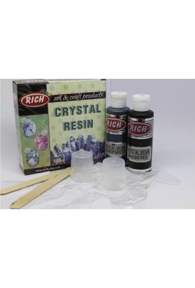 Rich Crystal Resin Transparan Yeşil Kristal Reçine Set 195 Cc