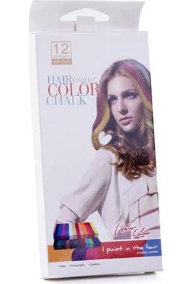 Saç Tebeşiri - 12 Renk
