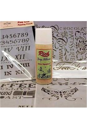 Rich Sprey Stencil Yapıştırıcısı 150 Cc.