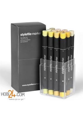 Stylefile Marker 12'Li Desert Set