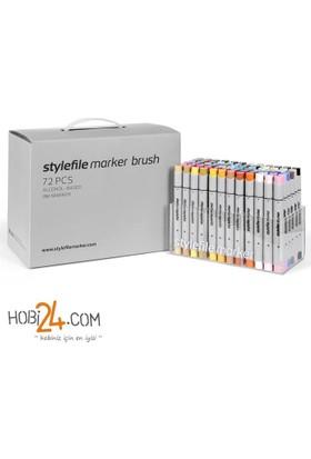 Stylefile Marker Brush 72'Li Main A Set