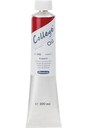 Schmincke College Yağlı Boya 200Ml - N:340 Alizarin Crimson Hue