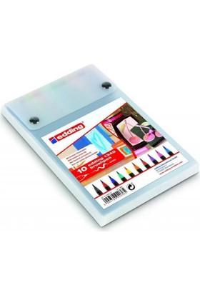 Edding 1340 Brushpen Fırça Uçlu Kalem 10 Renk